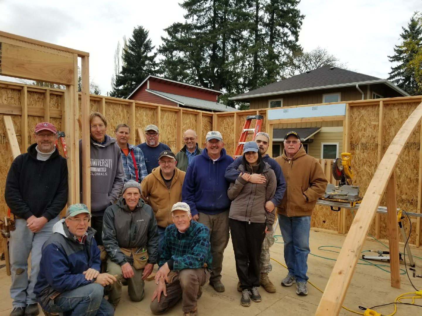 Volunteer for McMinnville Habitat for Humanity