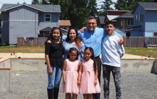2021 Women Build - Martinez Family
